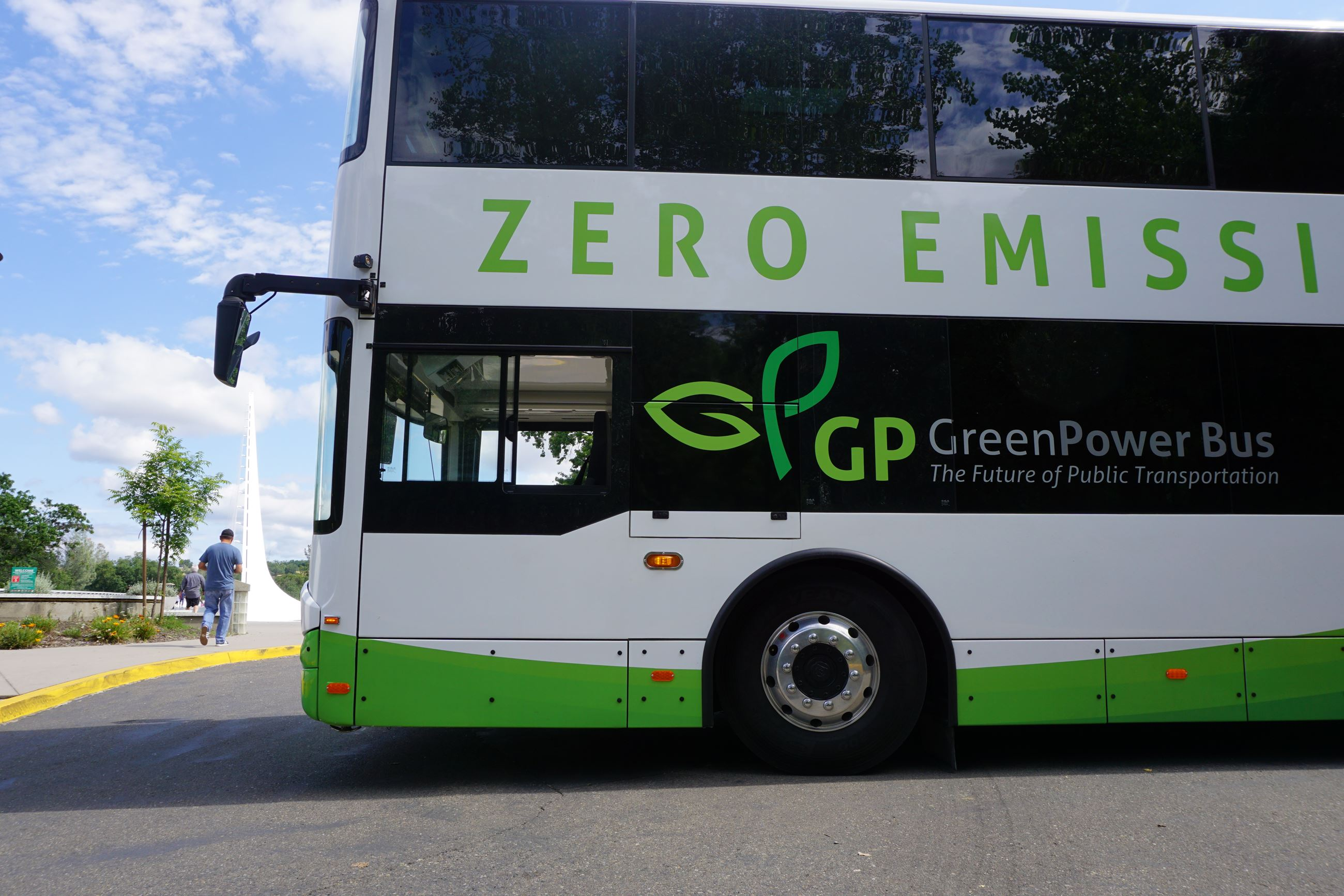 GreenPower Double Decker Demonstration
