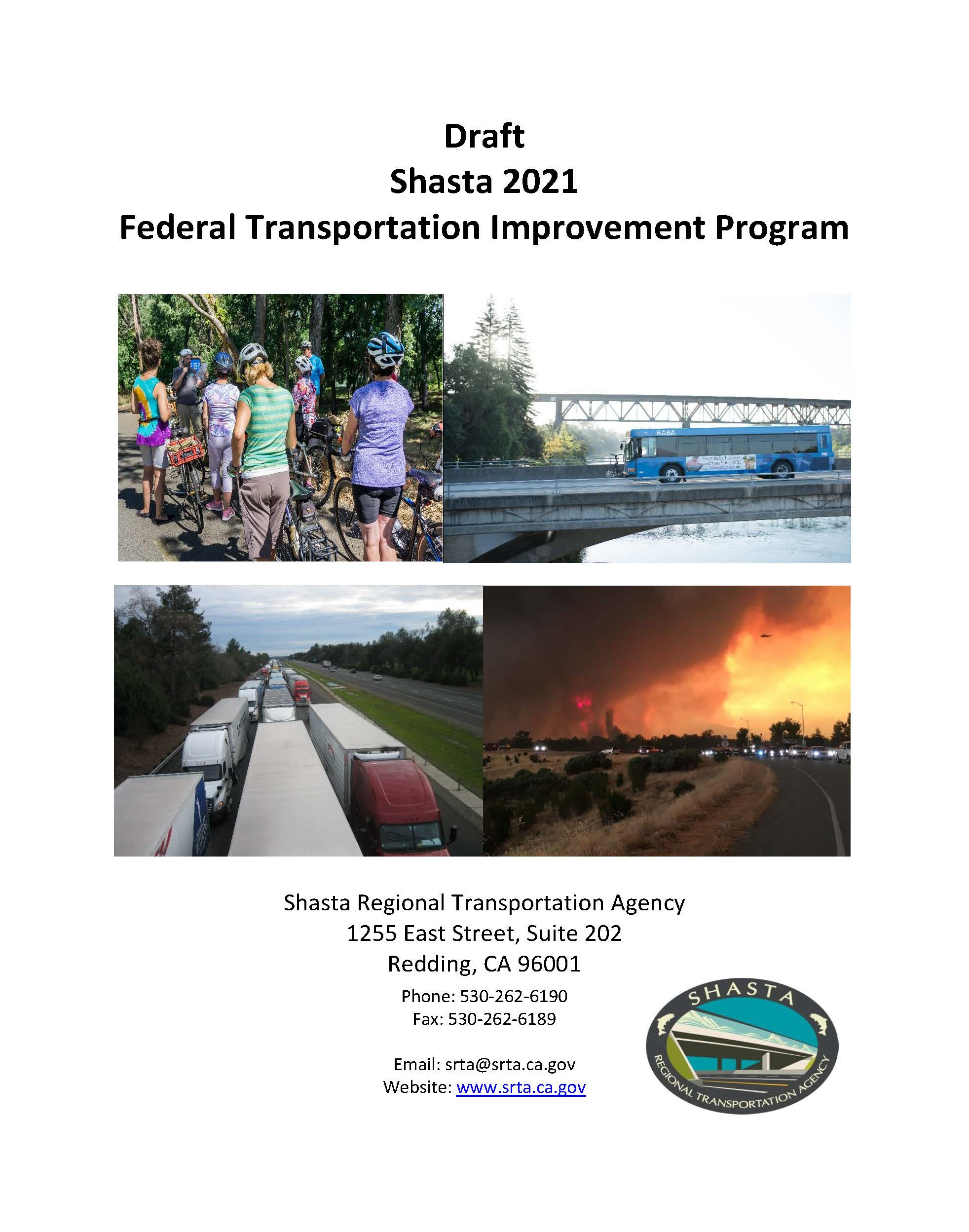 Draft 2021 Shasta FTIP Cover Page