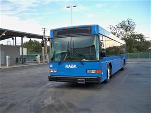 Transportation bus for Redding Area Bus Authority